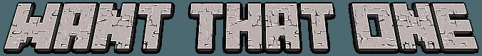 Wantthatone Logo