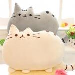 Pusheen Cat Cartoon Cushion Plush Stuffed Throw Pillow