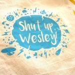 Shut Up Wesley Tote Bag Star Trek Next Generation