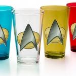 Star Trek TNG Insignia 4-Pint Set