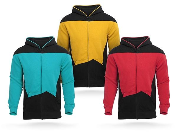Star Trek TNG Uniform Hoodie