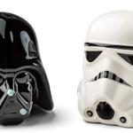 Star Wars Ceramic Salt and Pepper Shakers