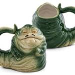 Star Wars Jabba the Hut Sculpted Ceramic Mug