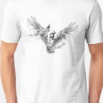 T Shirt Zyzz Winged