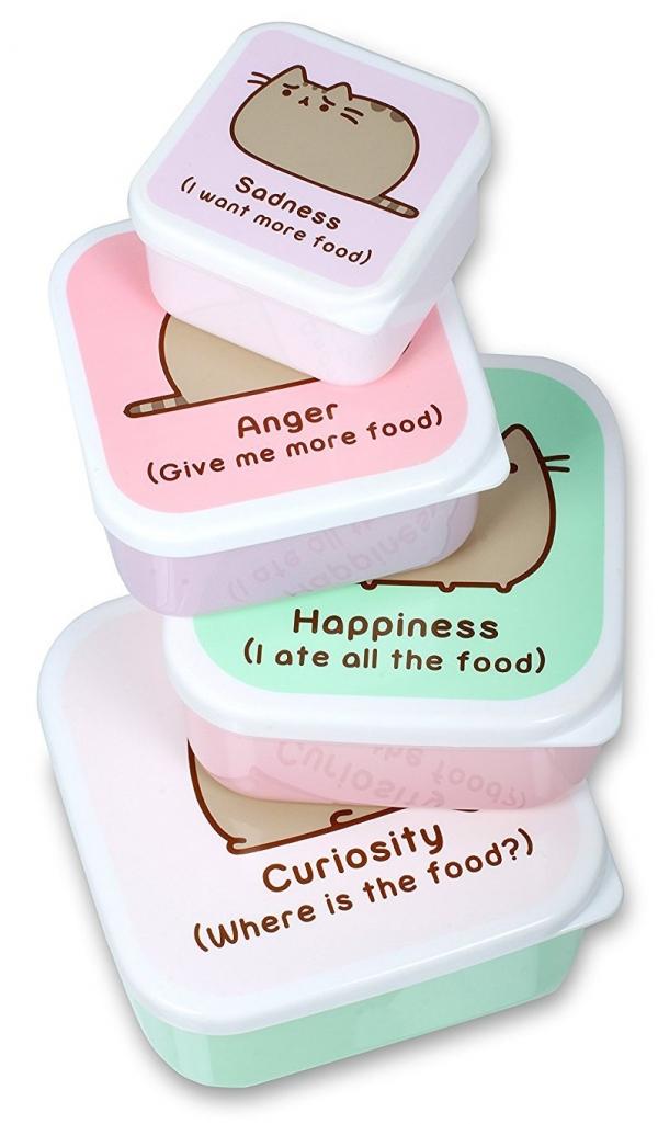 Thumbs Up Pusheen Snack Box Set