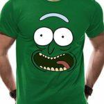 Primitive x Rick and Morty Mens Pickle Rick Crew Socks