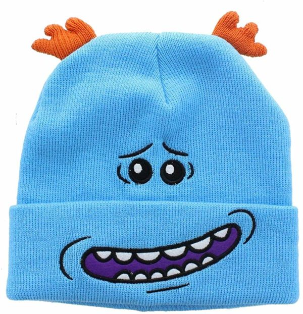 Rick and Morty Meeseeks Costume Beanie Cap Hat