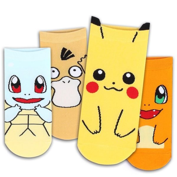 Womens Pokemon Socks